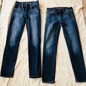 American Eagle Super Stretch Skinny Jeans Bundle 0